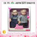 Silicio suave recién nacido muñeca encantadora juguetes muñeca de moda