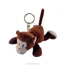 Plush Keychain animal Monkey toys stuffed small monkey keychain soft monkey toys