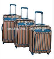 make up brush set trolley luggage bag set 2013 new design