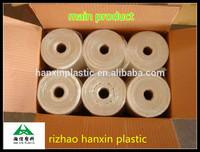 HDPE virgin transparent food grade plastic bags