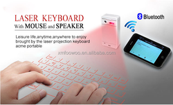 Wireless Virtual Laser projection Keyboard and Bluetooth mouse for Smart Phone Tablet PC Laptop Xiaomi 4 Wholesale Price
