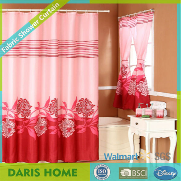 Shower Curtain With Matching Window CurtainBathroom