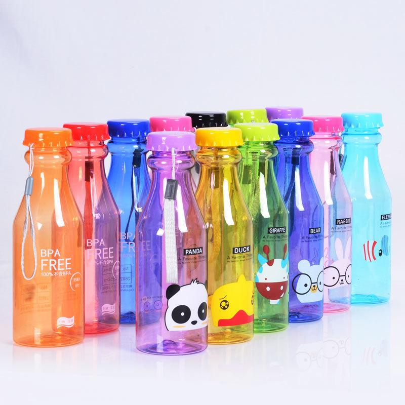 500 ml personalizada logotipo de pl stico transparente suave bebidas botella botellas de agua - Vidrio plastico transparente precio ...