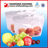 Micro Perforated Fresh Fruit Packaging Plastic Bag