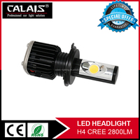 Super quality 30W h4 hi lo cr ee led headlamp canbus cob led head work lights for car