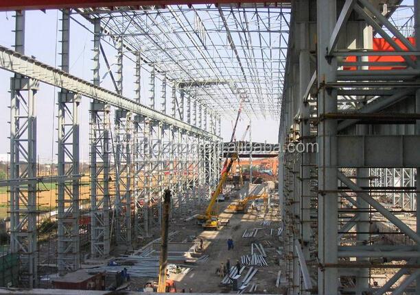 H beam building