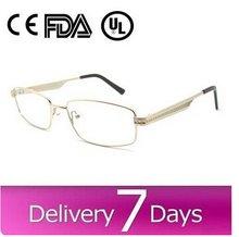 2015 hotsell women men alloy eyewear optical frame with spring hinge