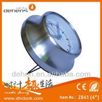 hot selling aluminium desk alarm clock