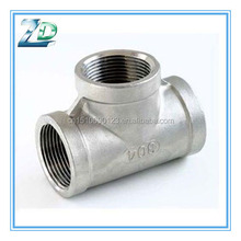 Hot Dipped Gal Malleable Iron Reducing Tee Banded