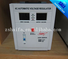HaiFa UDR-5000VA AC.Automatic Voltage Regulator/ Home Stabilizers 2000VA//3000VA/8000VA aac voltage stabilizer design