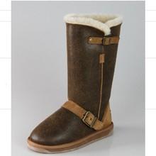 Branded Vintage Design Winter Women Leather Boot 2015