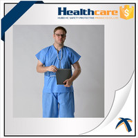 Disposable PP non-woven fabric isolation gown/disposable patient gown for children