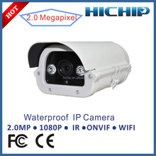 CMOS Sensor Onvif Waterproof IR Bullet HD 1080P P2P Wireless CCTV IP Camera