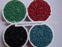 Polypropylene recycled plastic granules