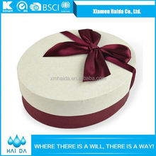 2015 SALES PROMOTION JEWELRY PACKAGING BOX WITH BOWKNOT ON LID