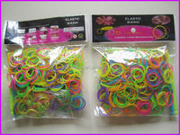 2014 hottest selling fun loops rubber band DIY crazy loom bands wholesale