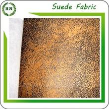 Hongway bronzeado tecido de camurça, À prova d ' água impresso Micro camurça sintética tecido