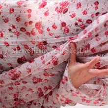 Chiffon cloth Small broken flower georgette cloth cloth tail goods