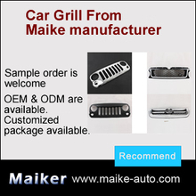 auto original tuning truck suv front air grille guard chrome or plastic car lamps front grille