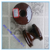 ANSI 53-2 for high and medium voltage porcelain spool electric fence insulator