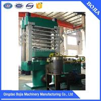2015 Hot Selling rubber tile vulcanizing press rubber floor making machine rubber tile making machine