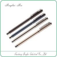 2015 wholesale metal body ballpoint pen for gift MOQ 10 PCS