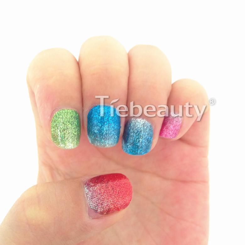 2016 Tiebeauty Princess Nail Sticker Lovely Kids Nail Wraps Nail Art