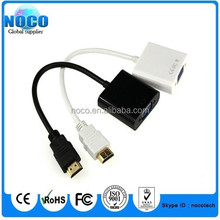 High quality for hdmi to vga converter cable adapter for raspberry pi 2