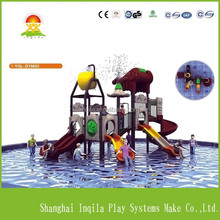 Commercial water park equipment kids plastic slide for swimming pool