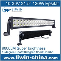 "High power 7500LM 100w 21.5"" led light bar for motorcycle jeep bulb auto spare part"
