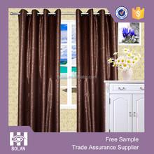 elegant pattern customized embossed blackout fabric curtains