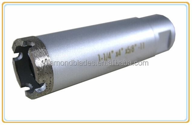 Wet Hollow Core Diamond Drill Bits for Stone Cutting