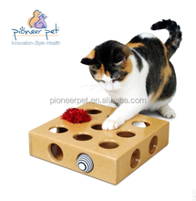 Cat treasure Toy Peek A Prize Box Exercise cat's body Develop Cat's Intelligence