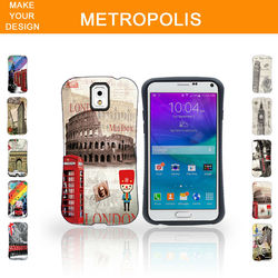 Popular customs 3D Sublimation cell phone case for samsung galaxy s6 edge