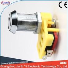 resistente a la corrosión máquinas tragamonedas de la leva del interruptor de bloqueo