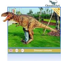 adult realistic dinosaur costume velociraptor