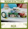 2015 Free samples wholesale washy tape, Japanese custom washy masking tape