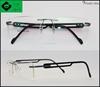 high quality wenzhou popular rimless titanium eyeglasses oem