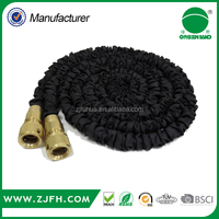 2016 Hot Sale Car Wash Best Selling High Quality brass fitting expandable fabric garden hose 25FT x 50FT x 75FT x 100FT
