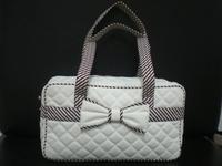 factory direct sale resuable fasion handbag promotional bag organic cotton makeup bag