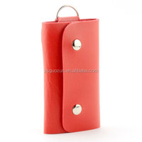 Wholesales cheap price stylish genuine leather key case