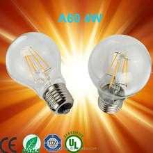 PD Lamp 4W 6W TOP selling 2015 E27 B15 B22 E14 360 degree led filament globe bulb/led candle bulb light