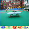Low price protable used sport table tennis court flooring