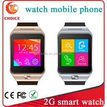 New 2G touch screendigital multimedia smart watch band mobile phone