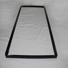 Anodized black Aluminum TV frame