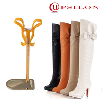 Desirable knee high boot supports user-friendly