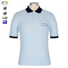Cheap Custom 100 cotton collar tee shirt printing t shirts tee