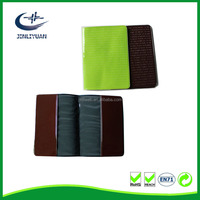 full print Soft or solid leather passport cover Holder
