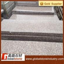 Vermelho do pêssego( g687) escadas de granito