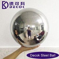 SGS 19mm to 1000mm customized holllow steel balls 201 304 316 316l 150mm 6 inch hollow steel balls